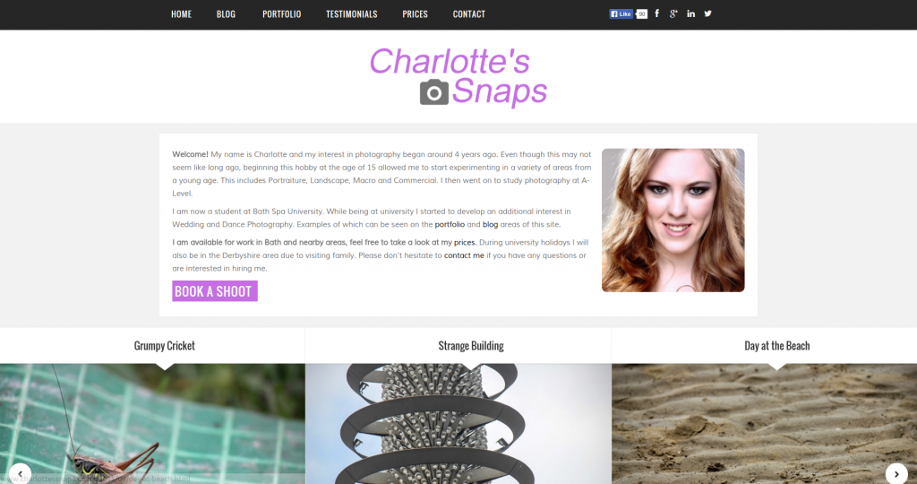 Charlotte's Snaps